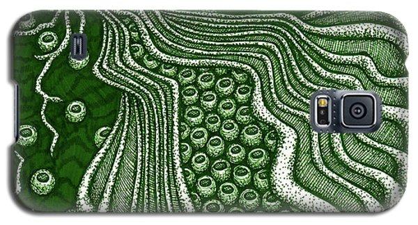 Alien Bloom 5 Galaxy S5 Case