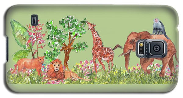 All Is Well In The Jungle Galaxy S5 Case