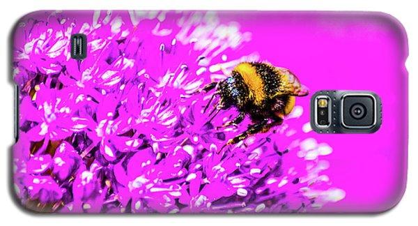 Allium With Bee 2 Galaxy S5 Case