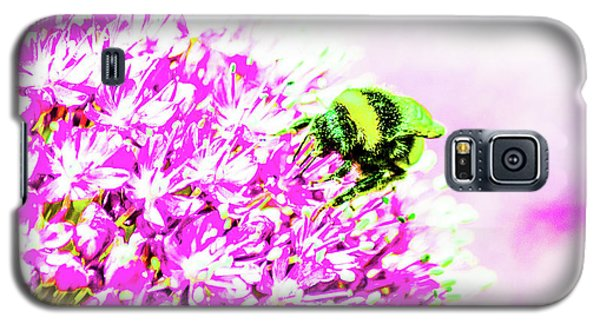 Allium With Bee 3 Galaxy S5 Case