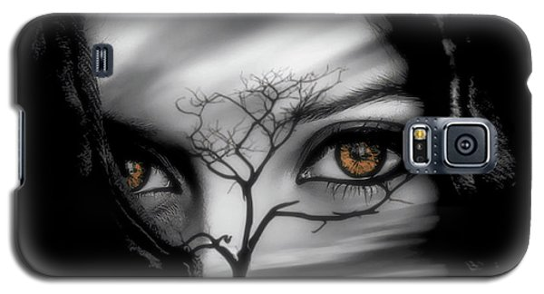 Galaxy S5 Case featuring the digital art Allure Of Arabia by ISAW Company