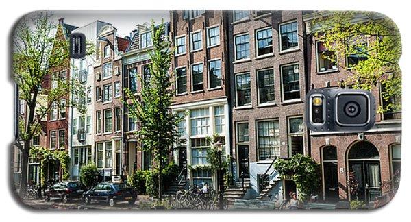 Along An Amsterdam Canal Galaxy S5 Case