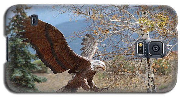 American Eagle In Autumn Galaxy S5 Case