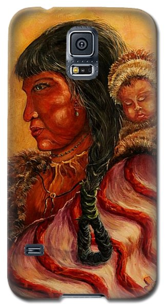 American Indian Mother And Child Galaxy S5 Case