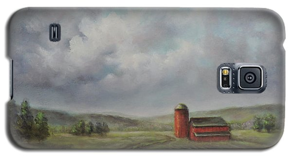 American Scene Red Barn  Galaxy S5 Case