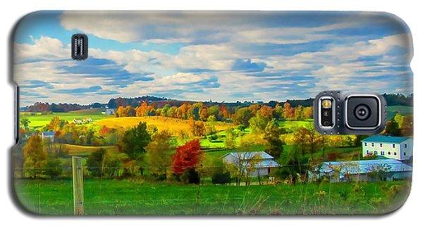 Amish Farm Beauty Galaxy S5 Case