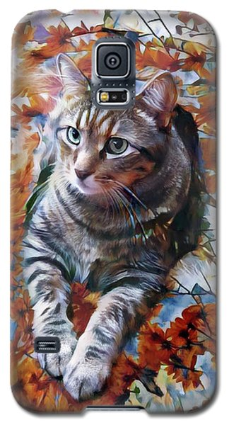 Amos In Flowers Galaxy S5 Case