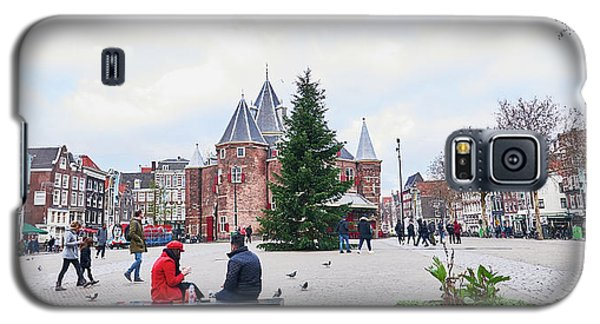 Amsterdam Christmas Galaxy S5 Case