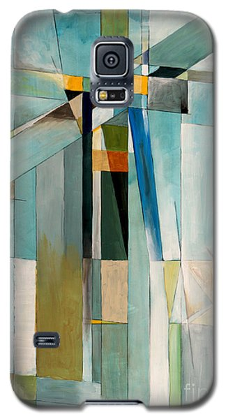 Icy Galaxy S5 Case - An Abstract Painting by Clivewa