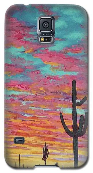 An Arizona Sunset  Galaxy S5 Case