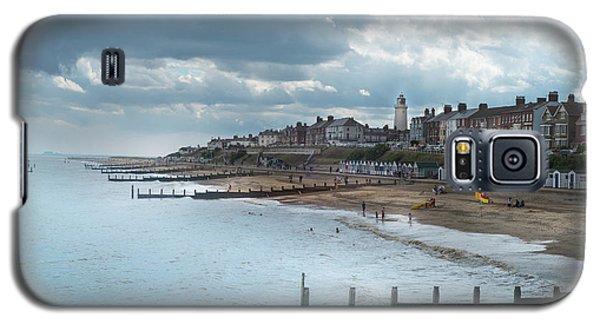 An English Beach Galaxy S5 Case