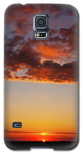 An Oklahoma Sunsrise Galaxy S5 Case