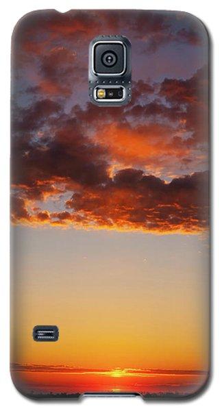 An Oklahoma Sunsrise Galaxy S5 Case