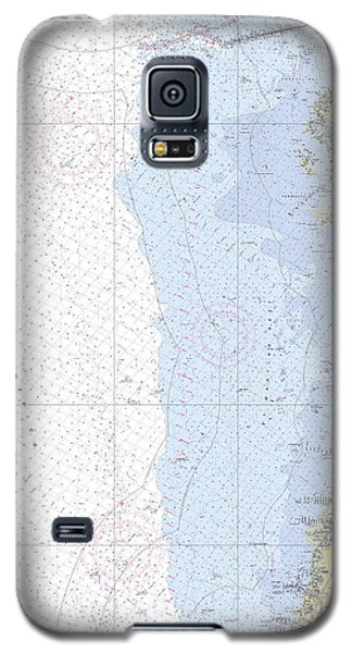 Anclote Keys To Crystal River Noaa Nautical Chart 11409 Galaxy S5 Case