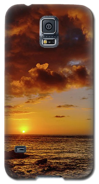 And Then The Sun Set Galaxy S5 Case