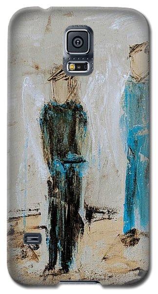 Angel Boys On A Dirt Road Galaxy S5 Case