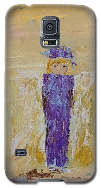 Angel Girl With A Unicorn Galaxy S5 Case