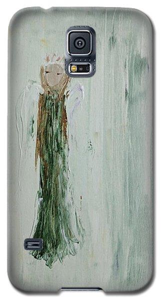 Angel In Green Galaxy S5 Case