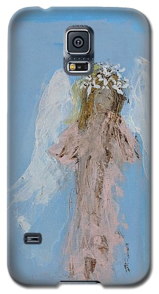 Angel With A Crown Of Daisies Galaxy S5 Case