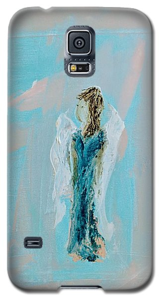 Angel With Character Galaxy S5 Case