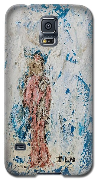 Angel With Her Pet Goat Galaxy S5 Case