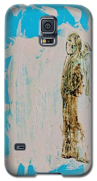 Angel With His Dog Wings Galaxy S5 Case