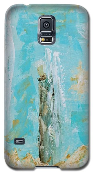 Angels Appear On Golden Clouds Galaxy S5 Case