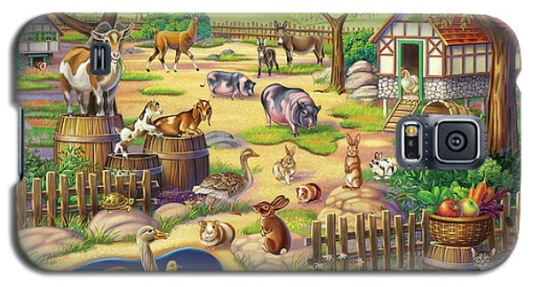 Animals At The Petting Zoo Galaxy S5 Case