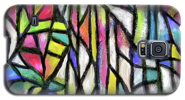Abstract Forest Galaxy S5 Case