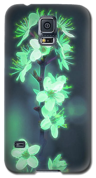 Another World - Glowing Flowers Galaxy S5 Case
