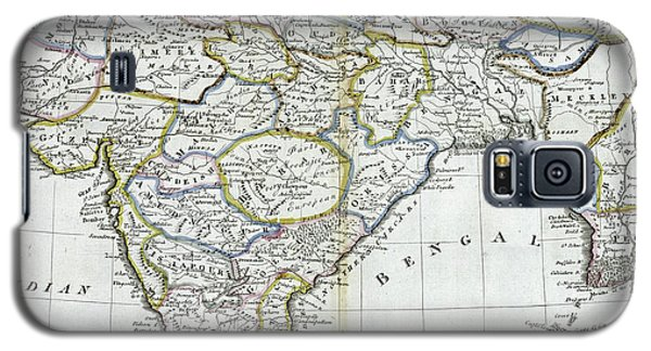 Antique Map Of India   Galaxy S5 Case