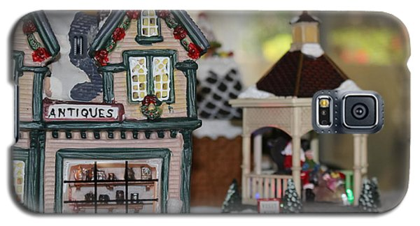 Antiques In Christmas Town Galaxy S5 Case