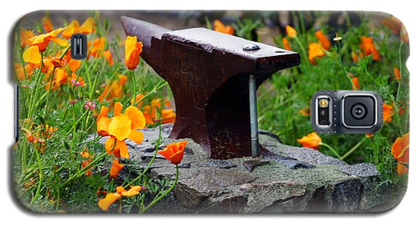 Anvil In The Poppies Galaxy S5 Case