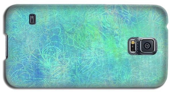 Aqua Batik Print Coordinate Galaxy S5 Case
