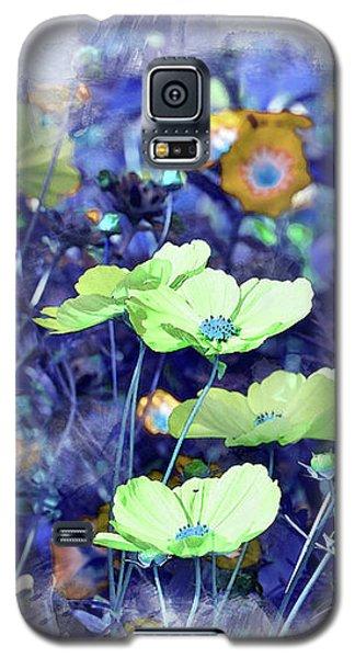 Aqua Blue Galaxy S5 Case