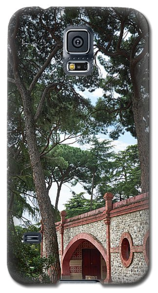 Architecture At The Gardens Of Cecilio Rodriguez In Retiro Park - Madrid, Spain Galaxy S5 Case