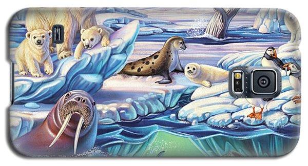 Arctic Animals Galaxy S5 Case