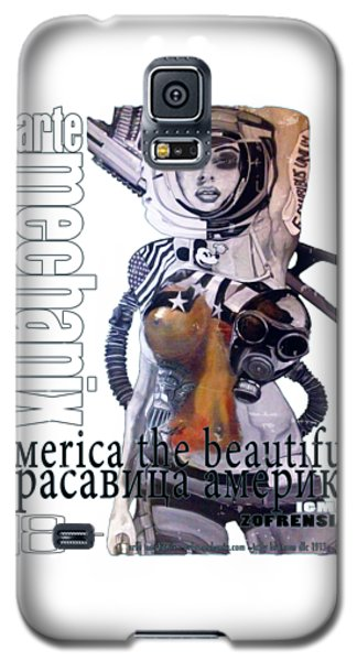 arteMECHANIX 1913 AMERICA THE BEAUTIFUL GRUNGE Galaxy S5 Case