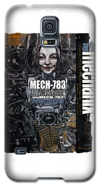 arteMECHANIX 1917 BioMECH-783 GRUNGE Galaxy S5 Case