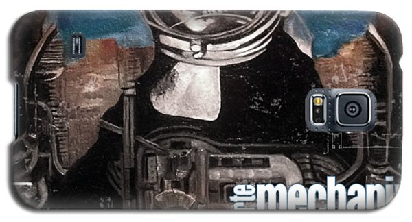 arteMECHANIX 1918 DAVINCI DOOMSDAY DEVICE  GRUNGE Galaxy S5 Case