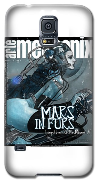 arteMECHANIX 1926 MARS IN FURS GRUNGE Galaxy S5 Case
