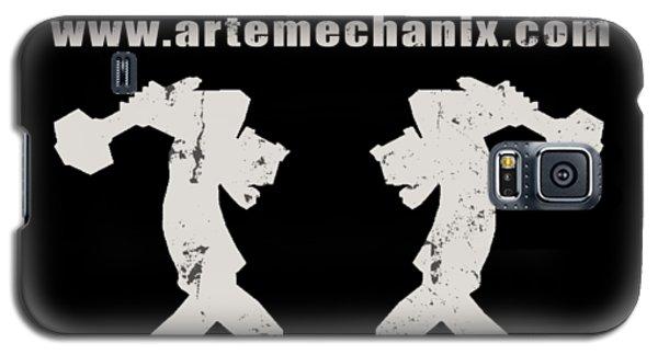 arteMECHANIX OFFICIAL LOGO  GRUNGE Galaxy S5 Case