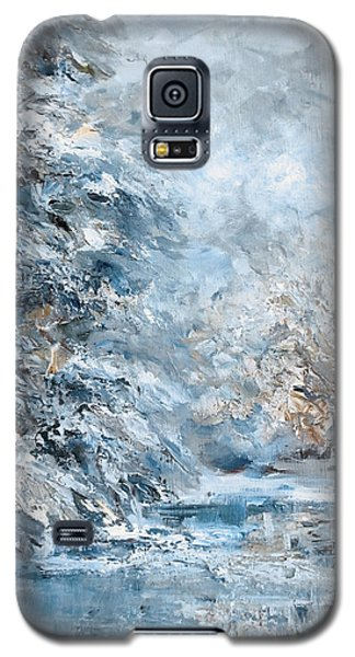 In The Snowy Silence Galaxy S5 Case