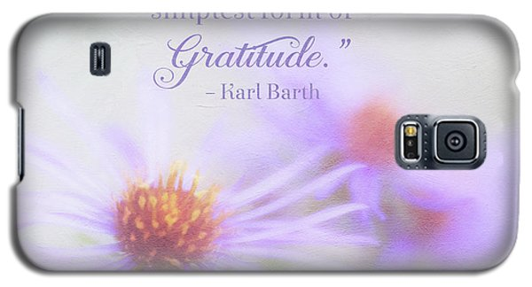 Joy And Gratitude For All Seasons Galaxy S5 Case