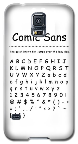 Comic Sans - Most Wanted Galaxy S5 Case