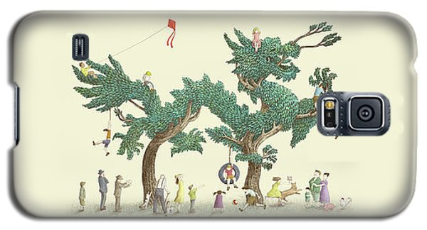 Dragon Galaxy S5 Case - The Dragon Tree by Eric Fan