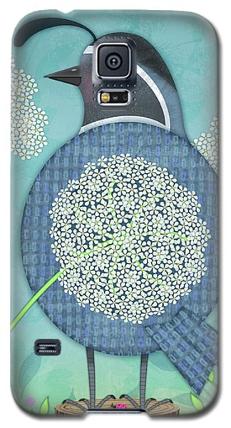Q Is For Quail And Queen Anne's Lace Galaxy S5 Case