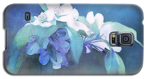 Painted Crabapple Blossoms Galaxy S5 Case