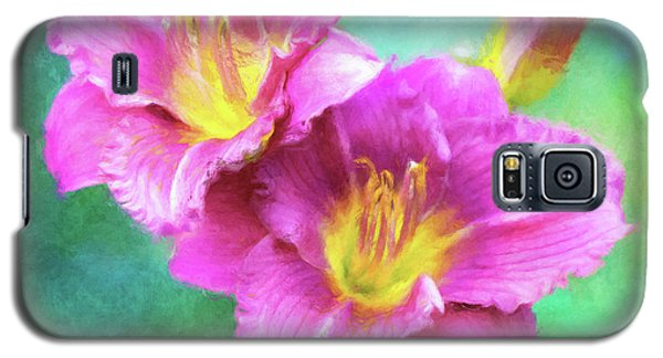 Dynamic Daylily Duo Galaxy S5 Case