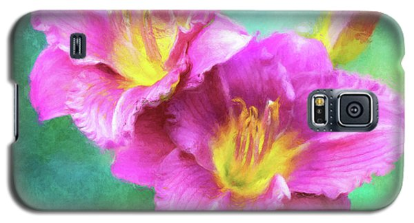 Dynamic Daylily Duo Galaxy S5 Case